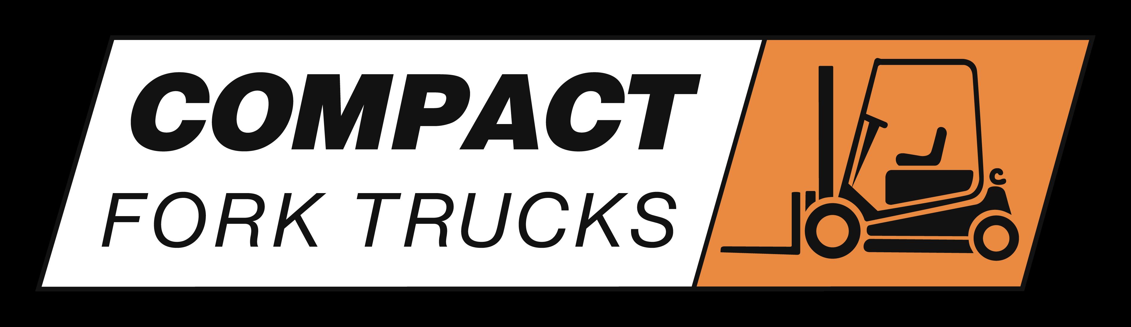 Compact Fork Truck logo vector (No boarder)-1